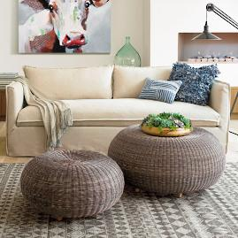 Sloane Slipcovered Sofa