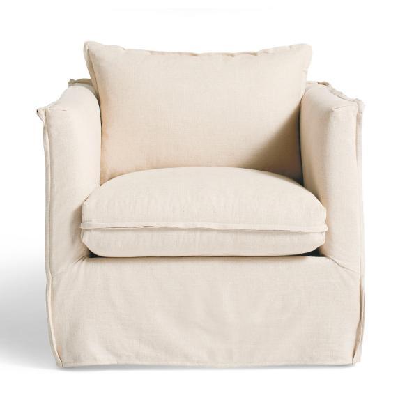 Sloane Slipcovered Chair Grandin Road