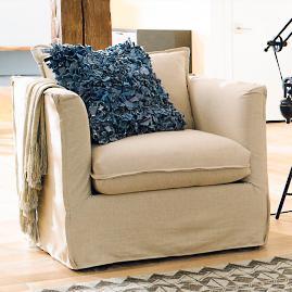 Sloane Slipcovered Chair