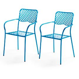 Astoria Bistro Chairs, Set of Two