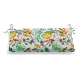 Tufted Patterned Bench Cushion