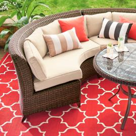 Brentwood Outdoor Seating Collection