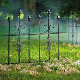 Gothic Metal Fence