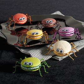 Katherine's Collection Macaroon Spiders, Set of Six |