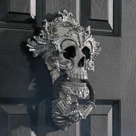 Katherine's Collection Skull Door Knocker |