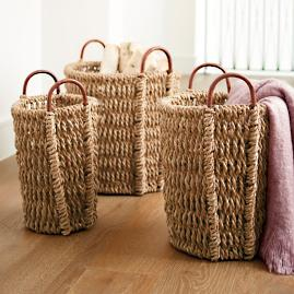 Harris Baskets, Set of Three