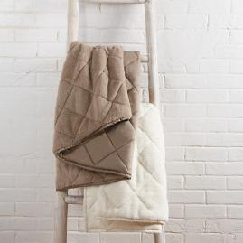 Plush Puffer Blanket