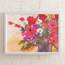 Amelia's Bouquet Artwork