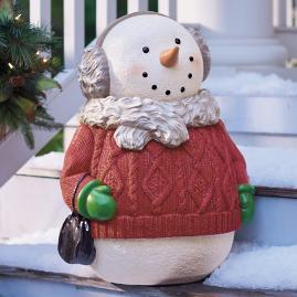Sydney Snowman Figure