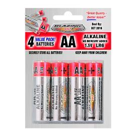 AA Batteries, 4 Pack