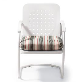 Retro Perfectly Suited Spring Chair Cushion