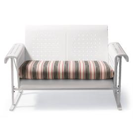 Retro Perfectly Suited Loveseat Glider Cushion |