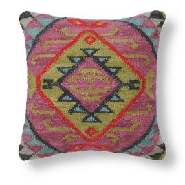 Bold and Neutral Kilim Pillows
