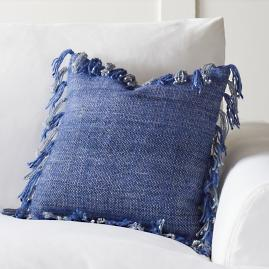 Solid Fringed Pillows