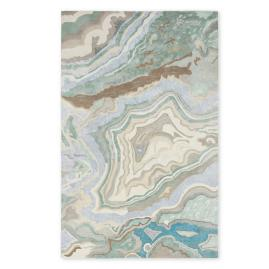 Abstract Swirl Area Rug |