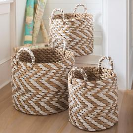 Chevron Baskets