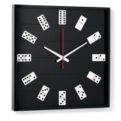 Dominoes Wall Clock Grandin Road