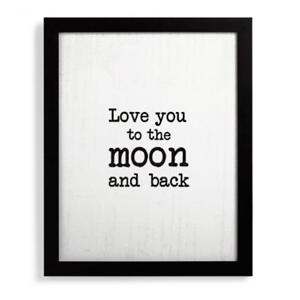 Love You To The Moon And Back Wall Art love you to the moon and back wall art   grandin road