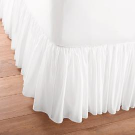 Cotton Voile Bed Skirt |