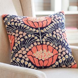 Macie Poppy Pillow