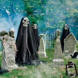 Reapers Graveyard Scene