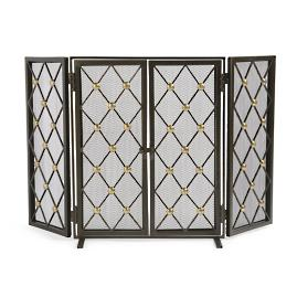 Byron Two-door Fire Screen