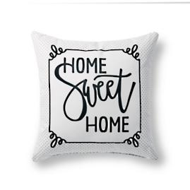 Home Sweet Home Outdoor Pillow |