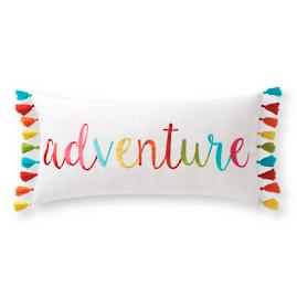 Adventure Tassel Pillow