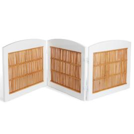 Freestanding Bamboo Pet Gate