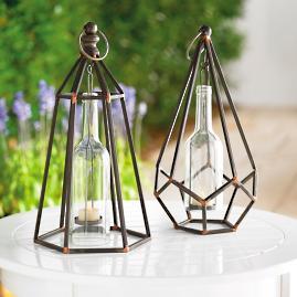 Princeton Hanging Tea Light Holder, Set of Two