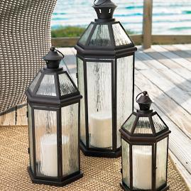 Callaway Lanterns, Set of Three |
