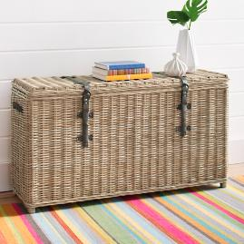 Robinson Tall Storage Trunk