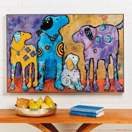 Cast of Characters Wall Art |