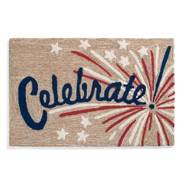Celebrate Americana Door Mat