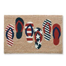 Freedom Flops Americana Door Mat |
