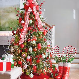 Holly Jolly Designer Christmas Tree — Shop the