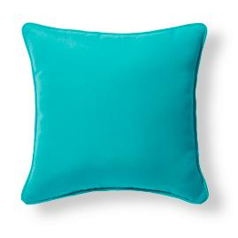 Piped Square Outdoor Pillow