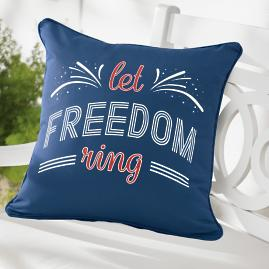 Freedom Patriotic Pillow
