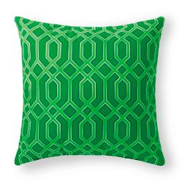 Bay Breeze Dancing Geometric Outdoor Pillow
