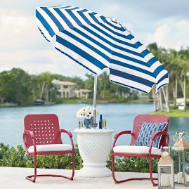 Cabana Stripe Umbrella |