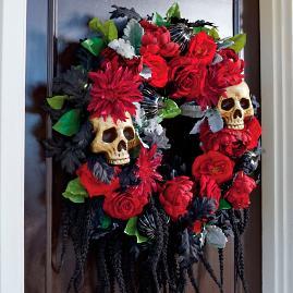 Gothic Romance Wreath
