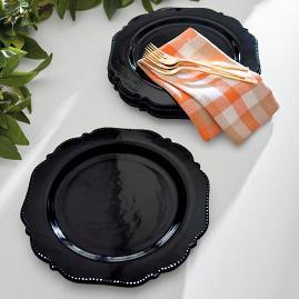 Midnight Dinner Plates, Set of Four |