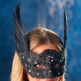 Glam Beaded Mask