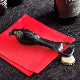 Cast Iron Raven Bottle Opener