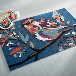 Autumn Bird Doormat