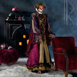 Mark Roberts Mrs. Regal Lifesize Fashion Skeleton