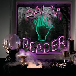 """Palm Reader"" Neon Sign"