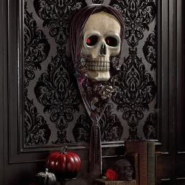 Katherine's Collection Glam Skull Wall Mask