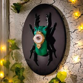 Insect Beetle Wall Plaque