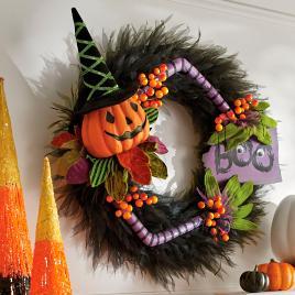 Witch Moon Wreath Grandin Road